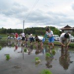 2010大朝小田植え2